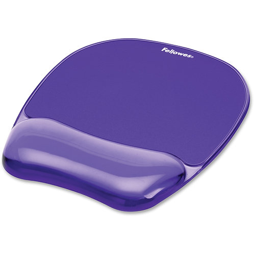Fellowes Office Crystal™ Gel Mouse Pad/ Wrist Support