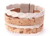 Lg Bicolor Cork Bracelet