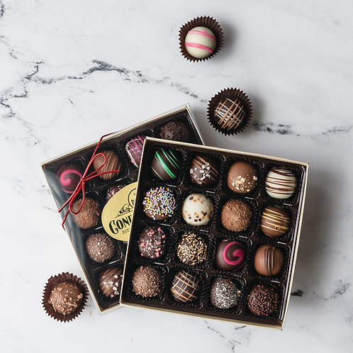 16-PIECE TRUFFLE BOX