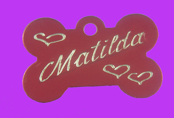 MEDIUM PET TAG 30 mm x 20 mm $9.50