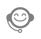 Customer Service Icon - Grey