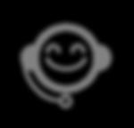 Service à la clientèle Icon - Gris