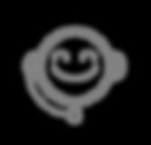 Icono del cliente Servicio - Gris