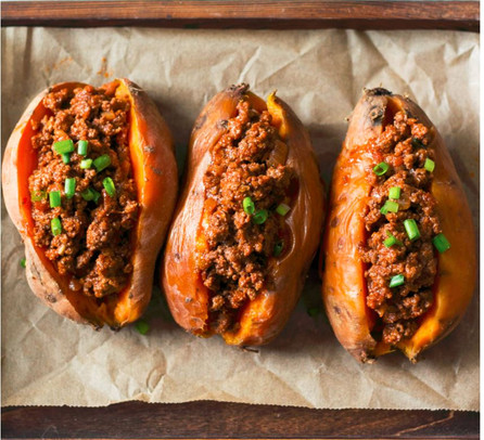 Chili Sweet Potatoes