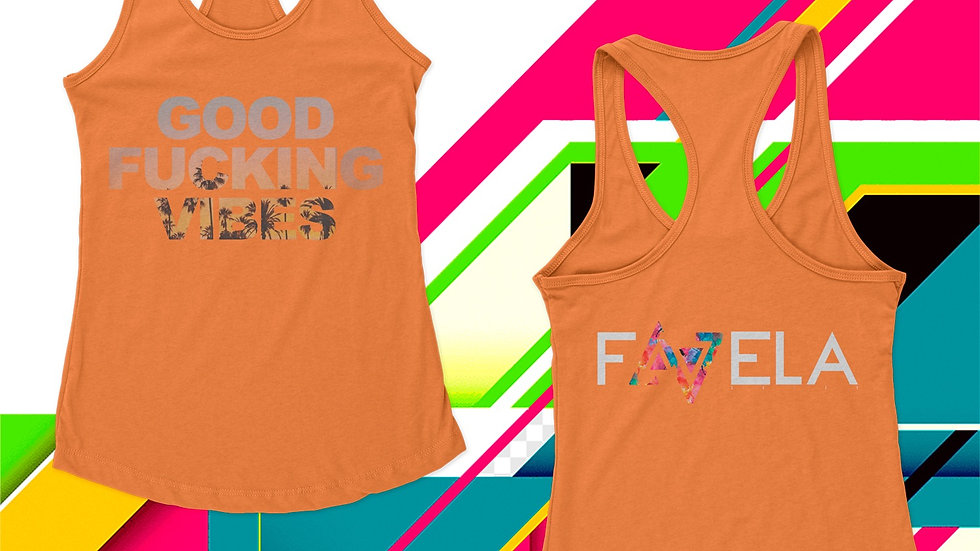 Good F**+ing Vibes  RACERBACK for HER