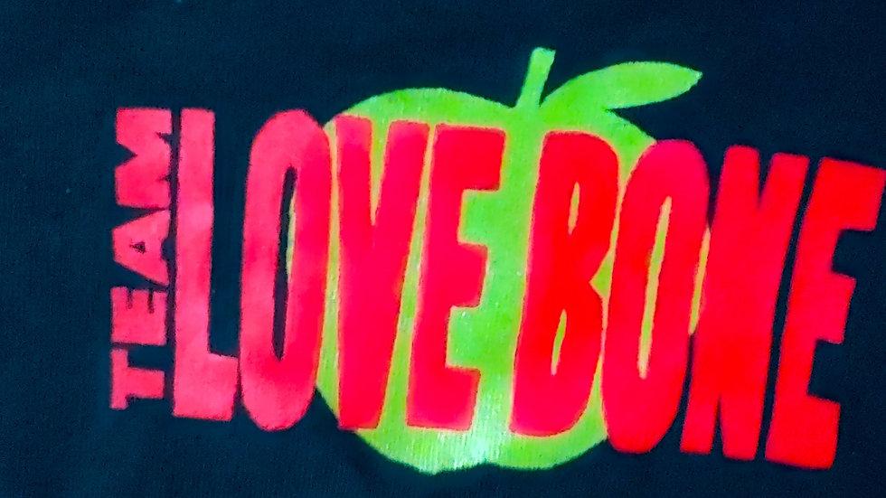 Air Love Bone T-Shirt -Black short sleeve