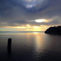 Ferry ride from Vashon Island