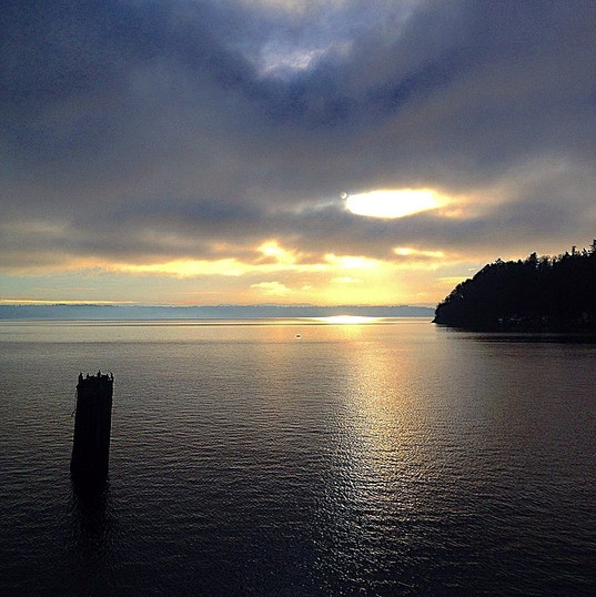 Ferry ride from Vashon Island