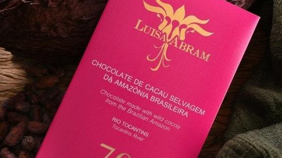 Luisa Abram - Chocolate da Amazônia - Rio Tocantins 70%  80g
