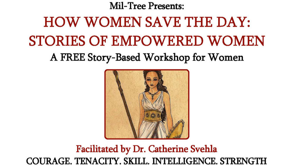 HOW WOMEN SAVE THE DAY: STORIES OF EMPOWERED WOMEN