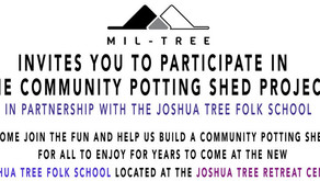 Potting Shed Project at The Joshua Tree Retreat Center