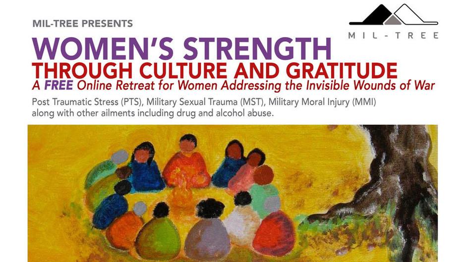 Women's Strength Through Culture and Gratitude  - Free online Retreat