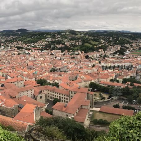 Le Puy-en-Velay, départ de la Via Podiensis
