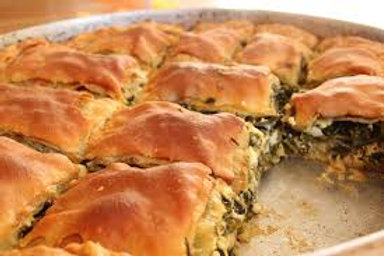 Vegan spinach pie for home delivery
