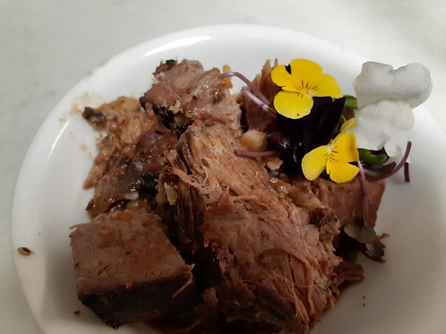 Beechcrest farm slow roast beef home delivery near Pittsboro NC