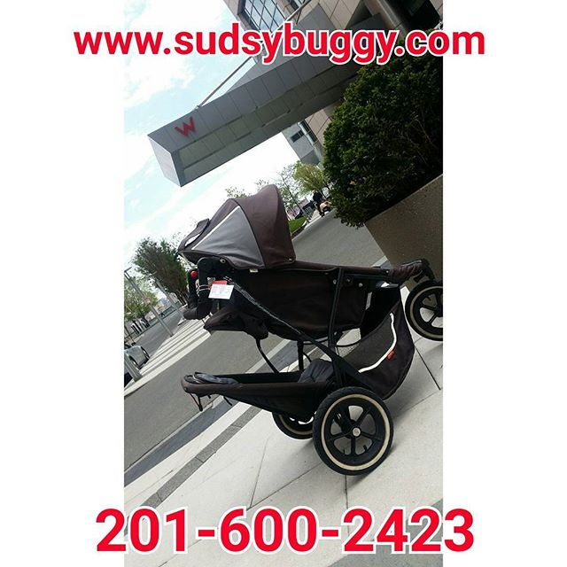 Yes!! We rent strollers and car seats!__#hoboken #manhattan #whotel #jerseycity #sudsybuggy #thebaby