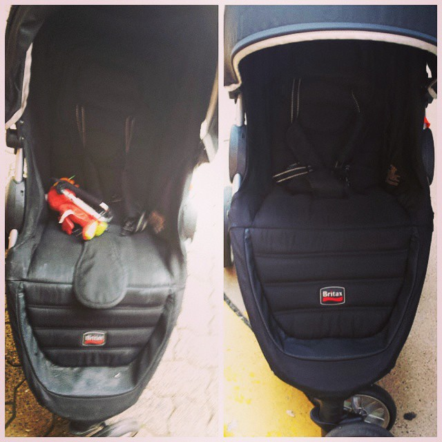 Yes, it's the same stroller! _#hoboken #jerseycity #edgewater #weehawken #westnewyork #tribeca #nyc