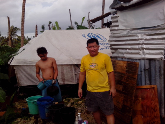 After finding his own family, Jaime volunteers to visit and check on other families for iPrevail