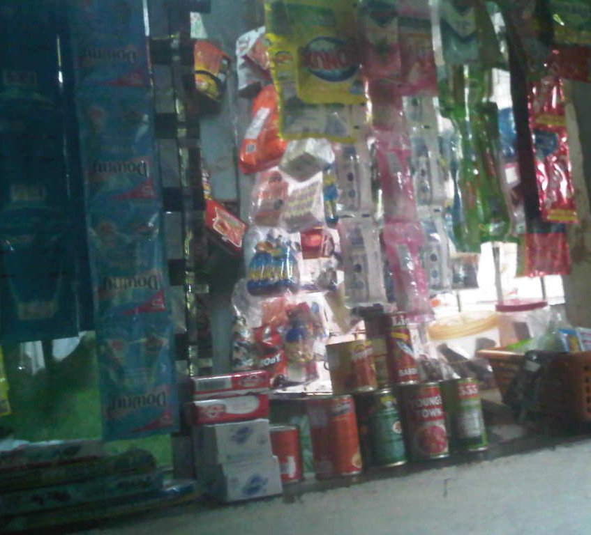 Goods display 1