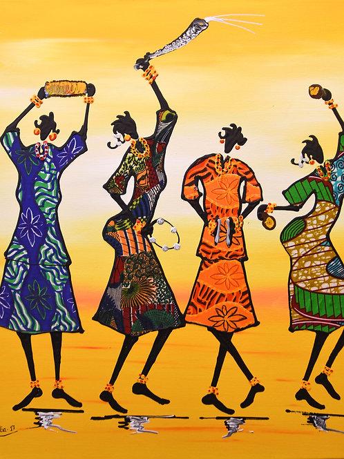 4 danseuses