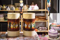 Lodia Art beschildert lampenkappen