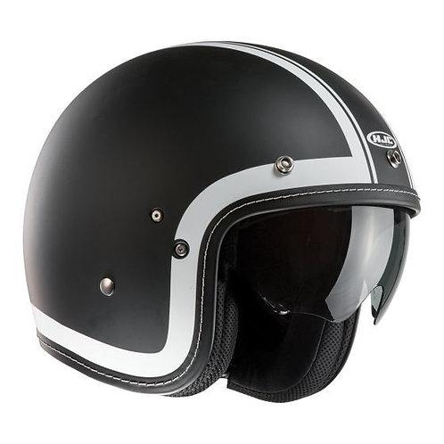 HJC FG-70s Openface Helmets Heritage Black