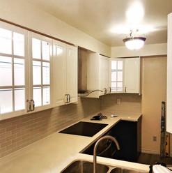 small light kitchen