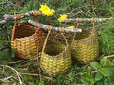Driftwood baskets