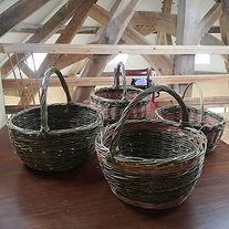 These shopping baskets were made on a da