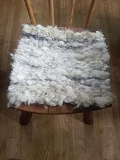Woollen seat pad