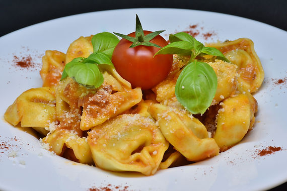 Tortellini with Spinach