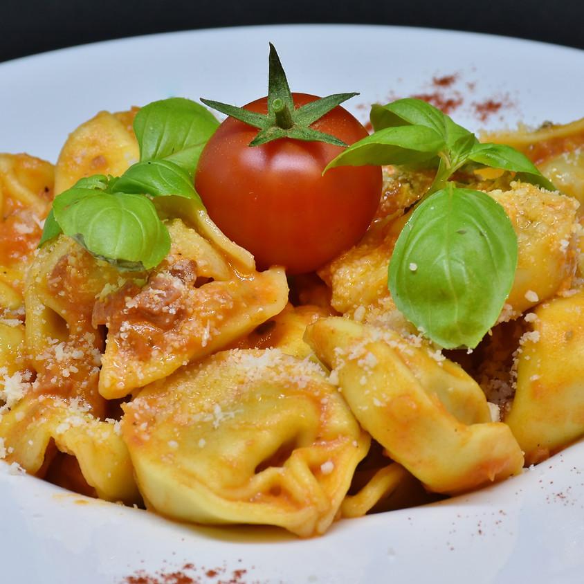 20/04 - Tortellini speck e formaggio fatti in casa