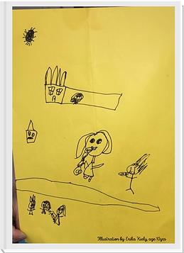 Illustration by Erika Kiely, age 10yrs.p