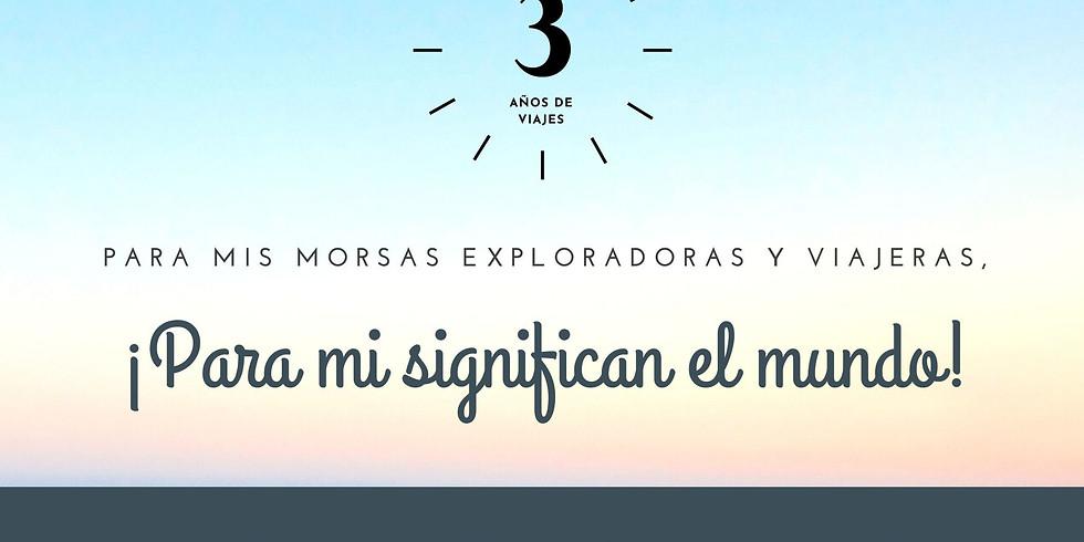 ¡3 AÑOS DE MORSA VIAJERA!