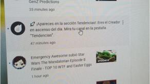 ¡Fuimos Tendencia en YouTube!