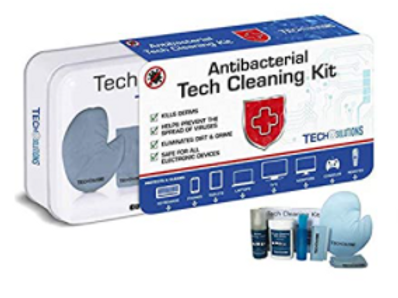 Antibacterial Tech Cleaning Kit