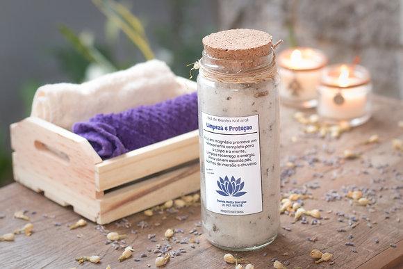 Sal de Banho Natural - Limpeza e Proteção