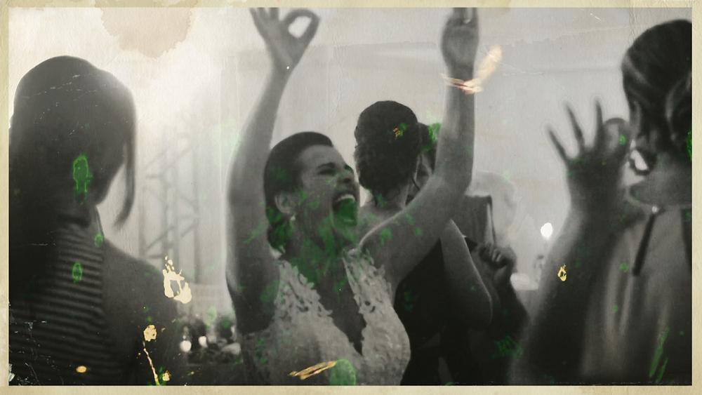 noiva dançando na festa do casamento