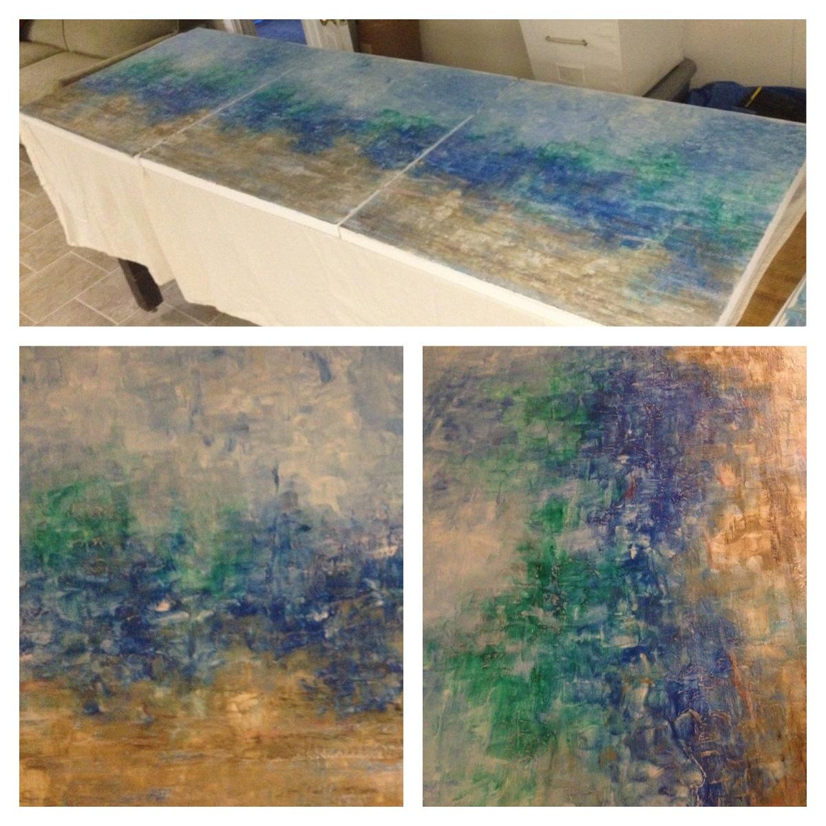 30x30 Triptych
