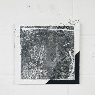 12x12 Acrylic + String Canvas Fragments (set of 12)