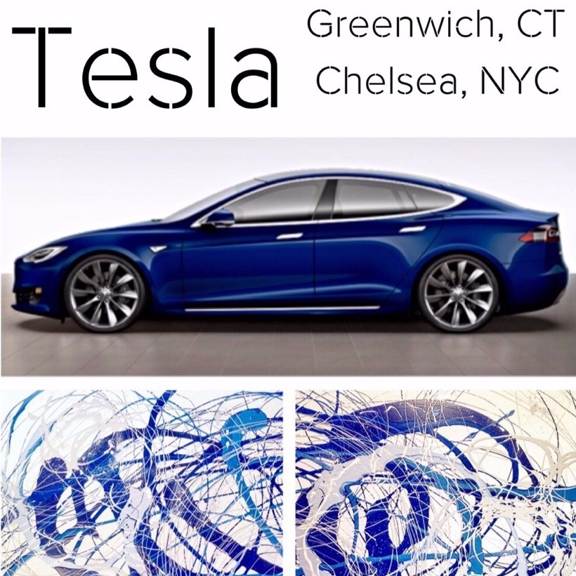 Photos from 2017 Tesla Exhibition in Chelsea, NYC and Greenwich, CT