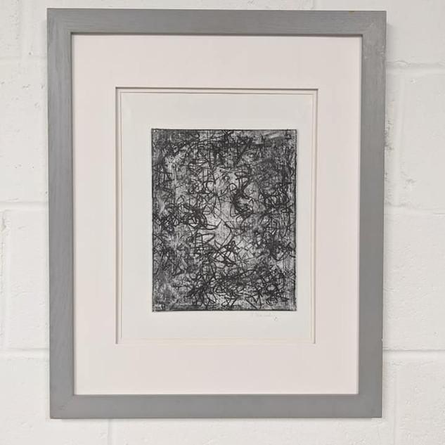 18x22 Acrylic/Chalk/Ink