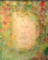 molly davey music paul verlaine abstract poem painting framed