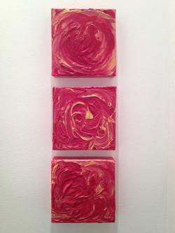 6x6 Triptych