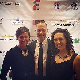 'Scape Trio at _focusonfrenchcinema Gala