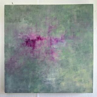 36x36 Acrylic Brushwork (SOLD)