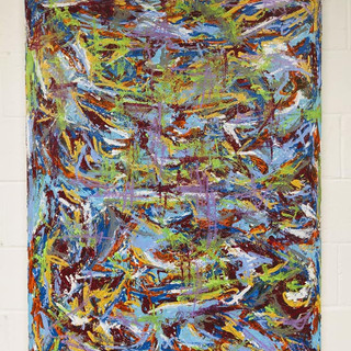 36x48 Acrylic Brushwork