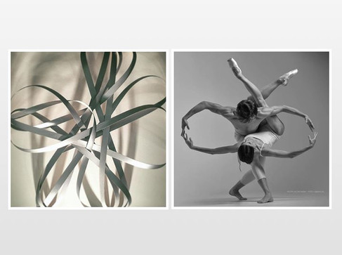 Dance and sculpture art pairing