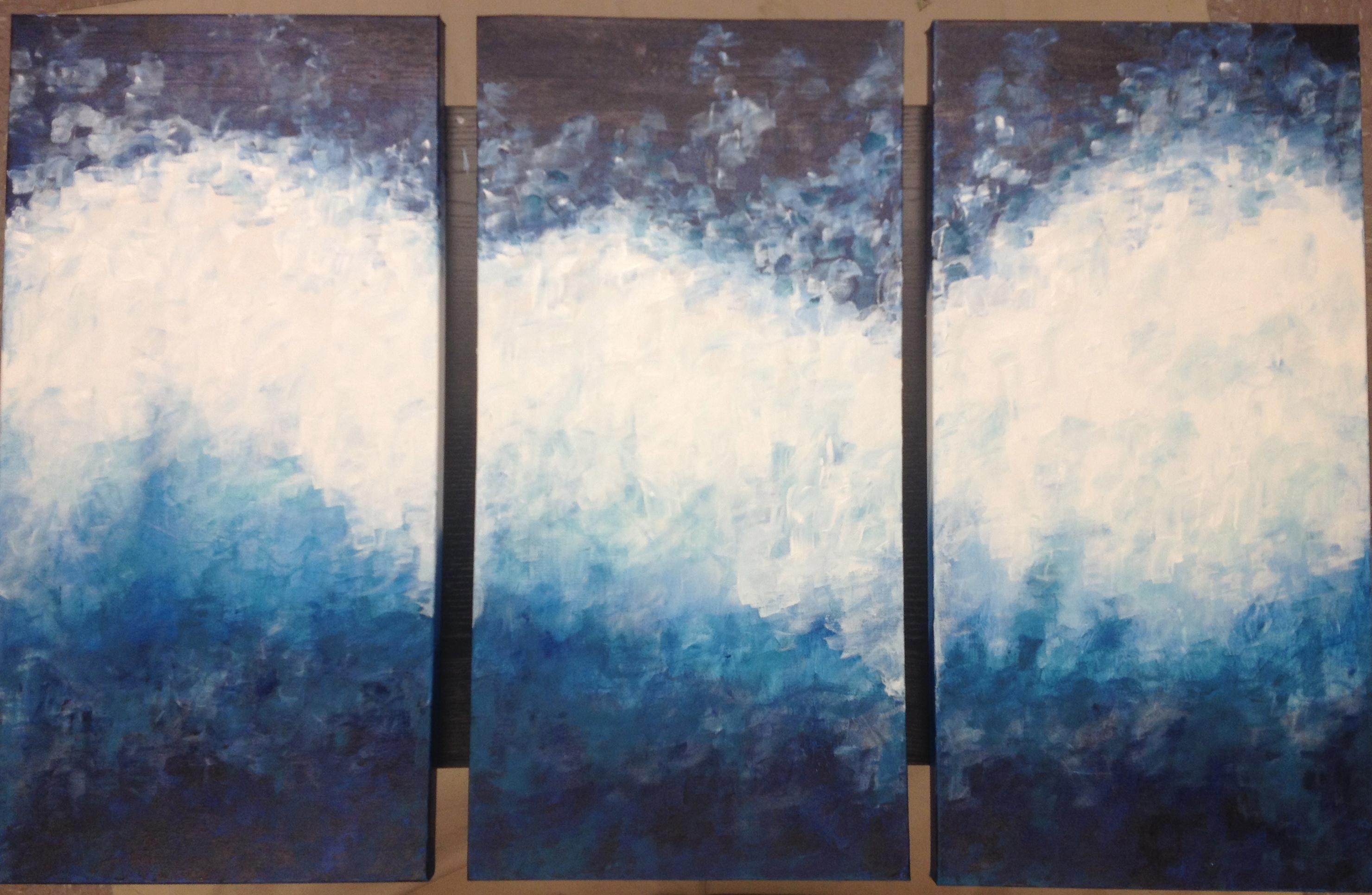18x30 Triptych