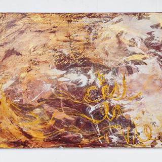 48x36 Acrylic Brushwork (SOLD)
